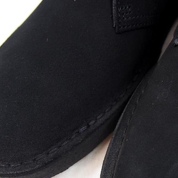 CLARKS  DESERTBOOT  BLACK SUEDE  26138227  クラークス  デザートブーツ  ブラック スエード  メンズ  【並行輸入品】|joyfoot|04