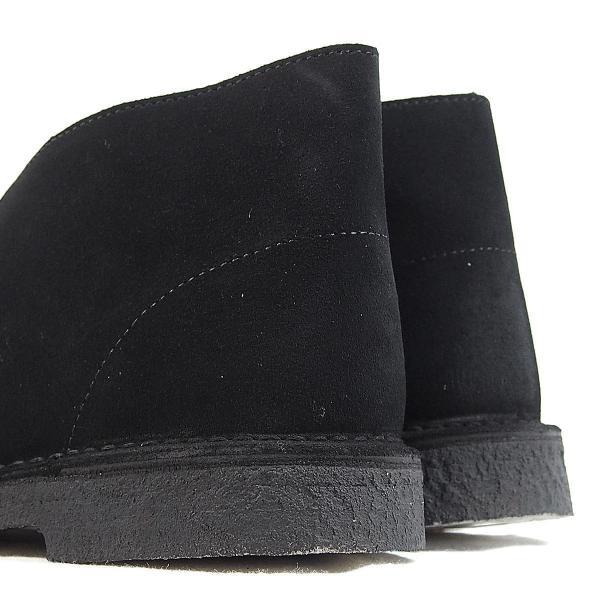 CLARKS  DESERTBOOT  BLACK SUEDE  26138227  クラークス  デザートブーツ  ブラック スエード  メンズ  【並行輸入品】|joyfoot|06