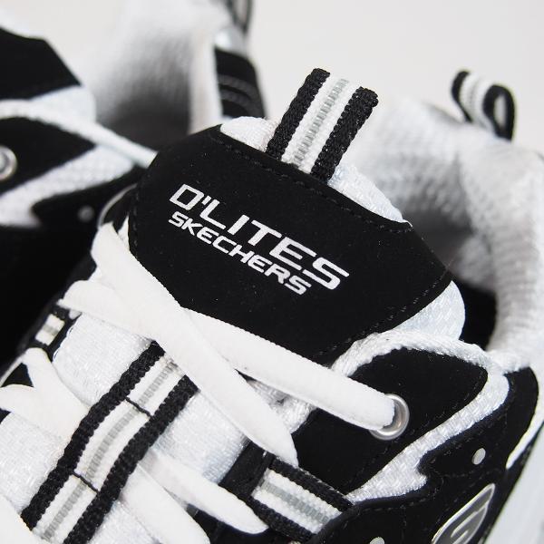 スケッチャーズ ディライト ブラック/ホワイト メンズ スニーカー SKECHERS D'LITES BLACK/WHITE|joyfoot|05