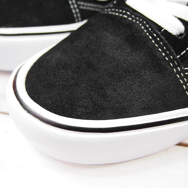 バンズ オールドスクール ライト メンズ VANS OLD SKOOL LITE (IJU)(SUEDE/CANVAS) BLACK/WHITE|joyfoot|05