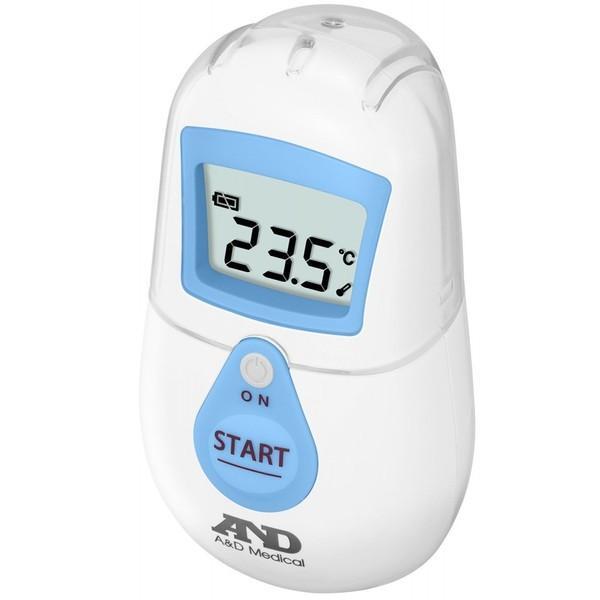 体温計 湯温計 A&D エー・アンド・ディ おでこで測る 非接触体温計 UT-701 (でこピッと) ブルー UT-701 joyfulgame 02