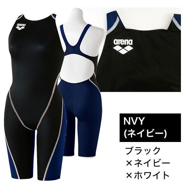 アリーナ 競泳水着 レディース Fina承認 X-PYTHON(X-パイソン) ハーフスパッツオープンバック ORI-L2502W|joyfulsports|05