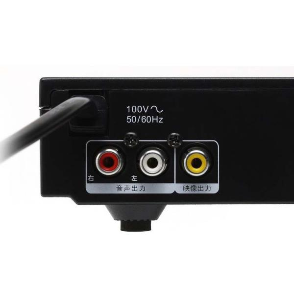 DVDプレーヤー コンパクトDVDプレーヤー ブラック DX-DVC04BK TOHO (D)
