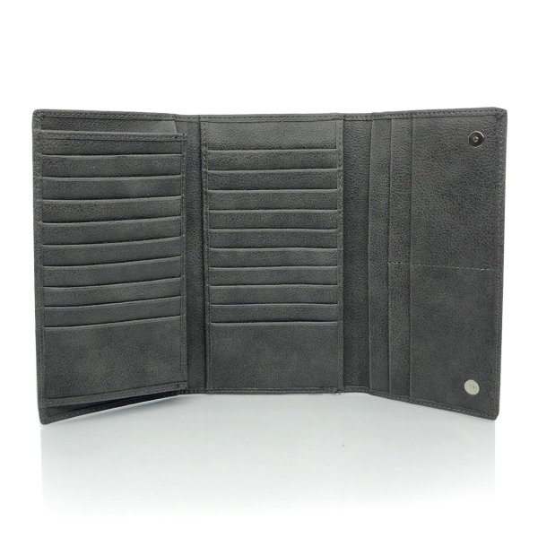 カードケース カードホルダー カード収納 長財布 合成皮革 PU レザー 大容量 メンズ 小銭入れあり RITTA BERA joysgarden 13