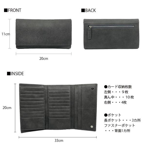 カードケース カードホルダー カード収納 長財布 合成皮革 PU レザー 大容量 メンズ 小銭入れあり RITTA BERA joysgarden 06