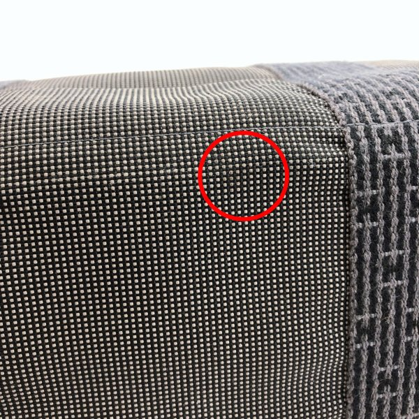 HERMES エルメス トートバッグ エールラインMM キャンバス グレー シルバー金具 メンズ 中古|jpbrands|11
