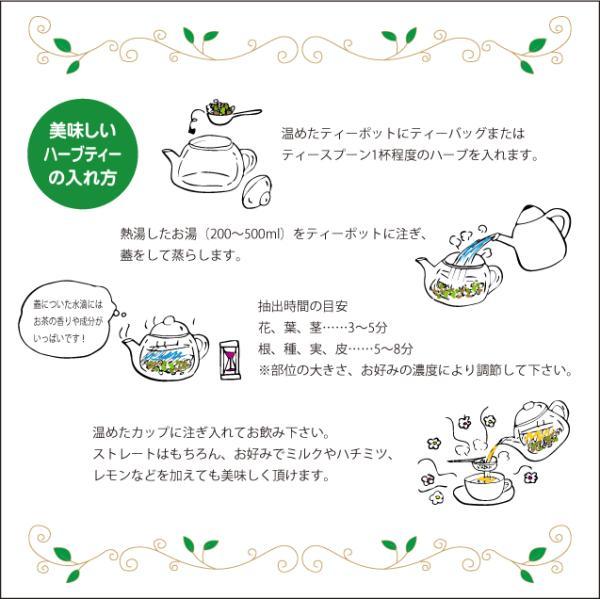 ハーブティー リーフ 茶葉 ノンカフェイン バタフライピー 10g ButterflyPea 蝶豆 チョウマメ|jpkelena|07