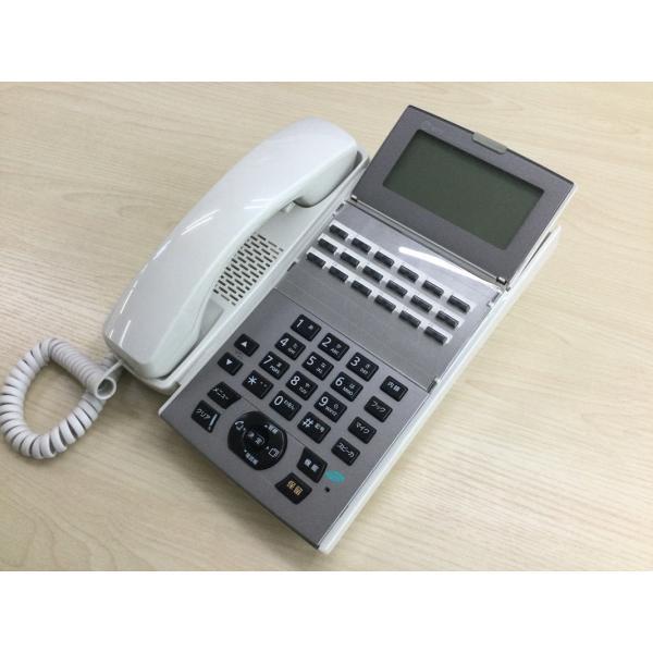 NTTαNXII18ボタンスター標準電話機(白)NX2-(18)STEL-(1)(W)リユース中古ビジネスフォン(B02996)