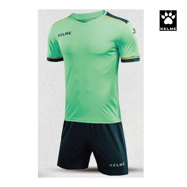 ケルメ フットボールシャツ&パンツセット ミントグリーン×ネイビー 3871001-328 <2020>