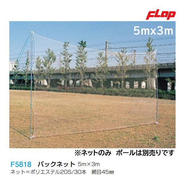 フラップ バックネット 5m×3m F5818 <2021CON>