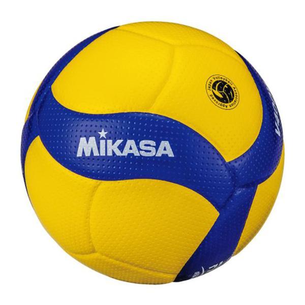 ミカサ お取り寄せ バレーボール4号 検定球 小学校試合球 (ネーム可) V400W-L