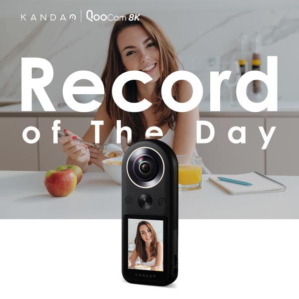 360度カメラ アクションカメラ KANDAO QooCam8K 8K360度カメラ iFデザインアワード2020 2.4インチタッチスクリーン20|jpstars|02