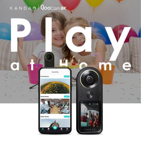 360度カメラ アクションカメラ KANDAO QooCam8K 8K360度カメラ iFデザインアワード2020 2.4インチタッチスクリーン20|jpstars|03