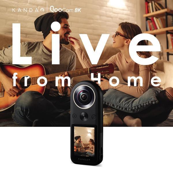 360度カメラ アクションカメラ KANDAO QooCam8K 8K360度カメラ iFデザインアワード2020 2.4インチタッチスクリーン20|jpstars|04
