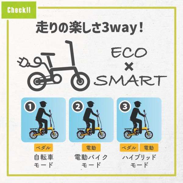 【Wキャンペーンさらにキャッシュレス・消費者還元5%!】次世代Smart eBike RICHBIT TOP619,1台3役を演ずる世界最軽量級電動バイク|jpstars|04