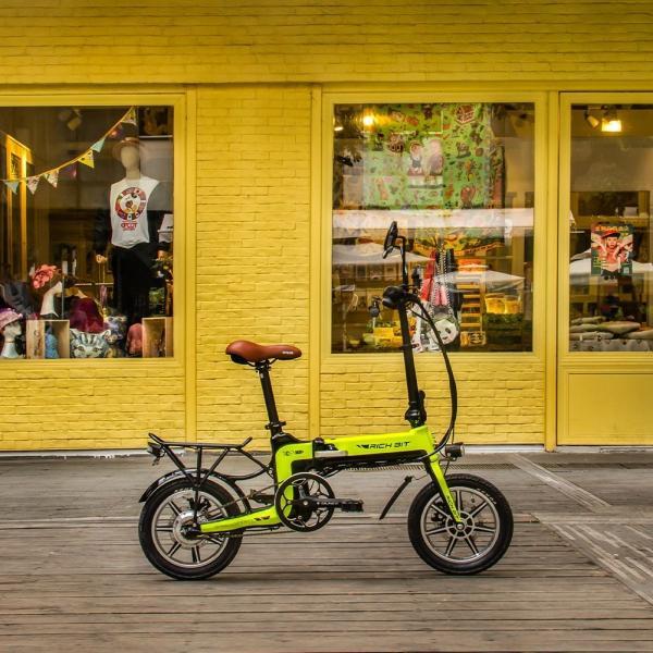 RICHBIT TOP619 SmarteBike  近未来型小型EV 電動自転車 電動バイク 電動スクーター 原付 折り畳み 公道可|jpstars|24