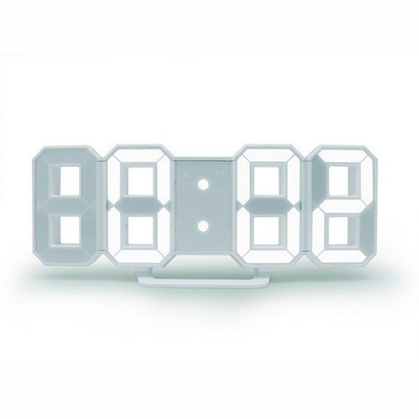 時計 壁掛け オシャレ 置時計 掛け時計 デジタル時計 おしゃれ Tri Clock jpt-teds 08
