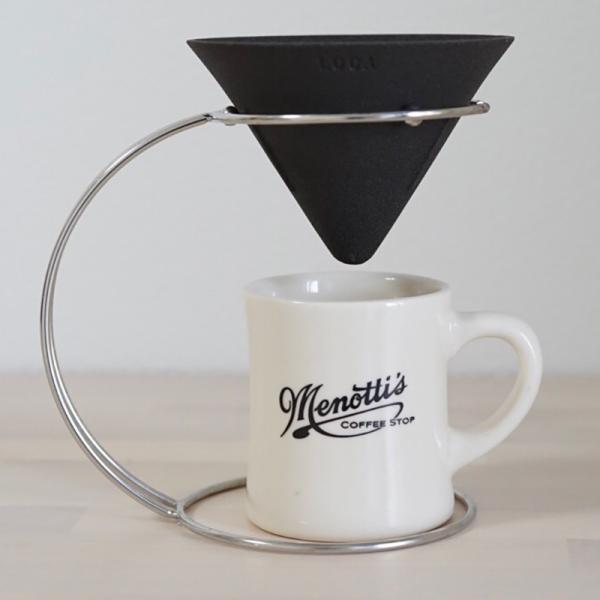 LOCA セラミックコーヒーフィルター 専用スタイリッシュステンレスフレーム|jpt-teds