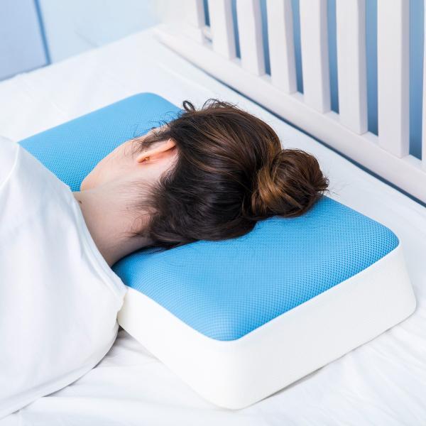 枕 快眠枕 横向き寝枕 洗える 高反発 ジェントルリーマ|jpt-teds|08