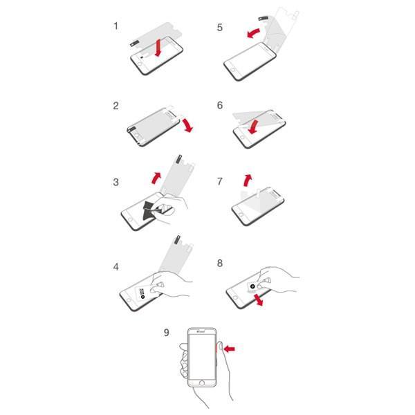 iPhone 保護フィルム ガラスフィルム iPhone8 など他機種取り揃え ヘイローバック|jpt-teds|04