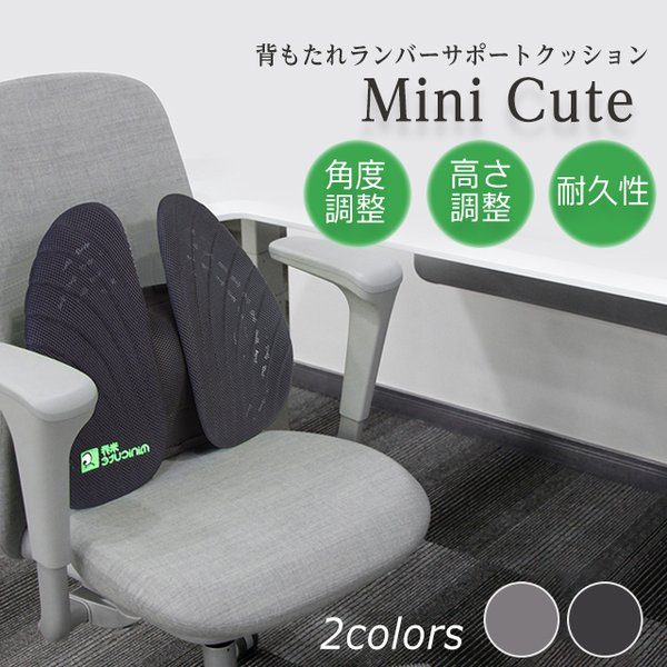 半額 姿勢矯正サポート  MiniCute 椅子 腰痛対策 車 クッション ランバーサポート 車 セール|jpt-teds