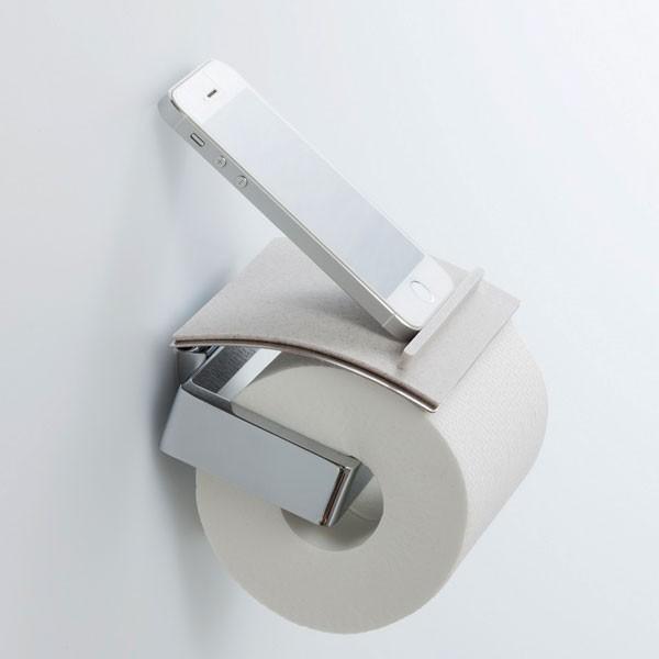 トイレにスマホ置き場 消臭素材配合シリコン製 トイレトレイ|jpt-teds|02