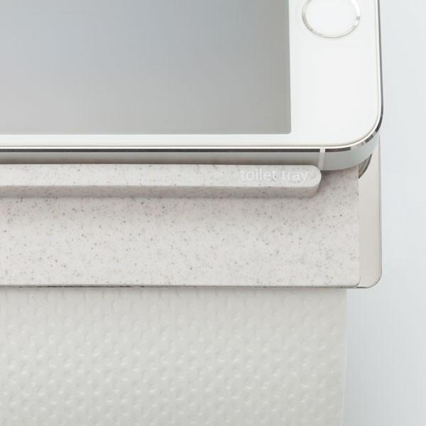 トイレにスマホ置き場 消臭素材配合シリコン製 トイレトレイ|jpt-teds|03
