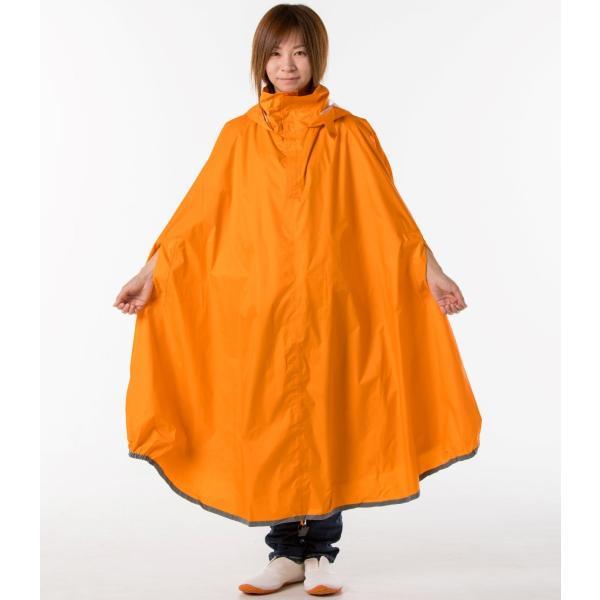 【雨の日に、カゴまで覆える便利な自転車用レインポンチョ!】 ちゃりポン コヤナギ koyanagi 雨具/カッパ/ポンチョ|jpu-shop|02