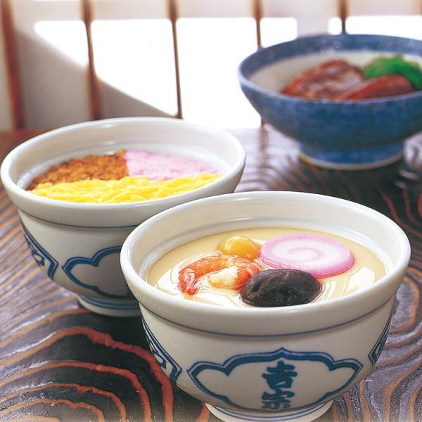 九州 ギフト 2021 吉宗 よっそう  伝承逸品 C-29  茶碗蒸し 蒸寿しの2人前と角煮4個  冷凍