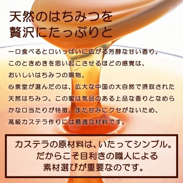 お中元 ギフト 2018 長崎心泉堂  幸せの黄色いカステラ 0.6号  常温|jrk-shoji|04