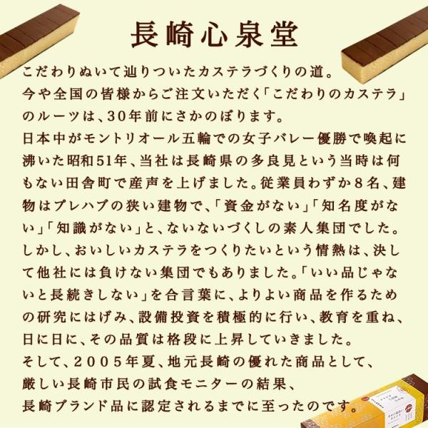 お中元 ギフト 2018 長崎心泉堂  幸せの黄色いカステラ 0.6号  常温|jrk-shoji|06