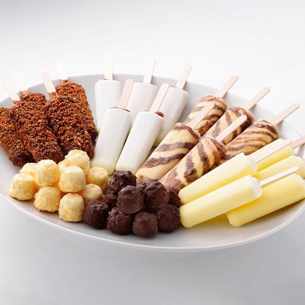 九州 ギフト 2021 竹下製菓 ファミリーパック 6種類  ブラックモンブラン 代引不可 冷凍 ヤマト便