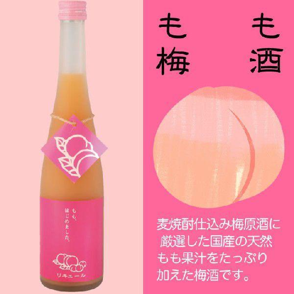 九州 ギフト 2020 篠崎 もも梅酒 もも、はじめました。 500ml 8度  リキュール  国産天然桃使用  常温