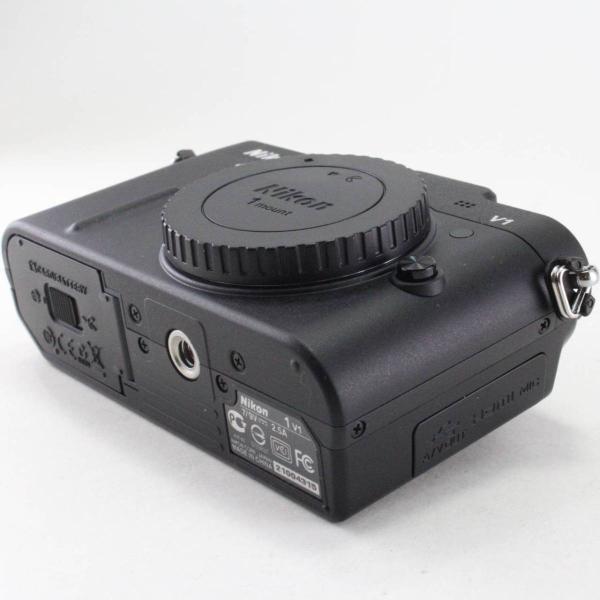 Nikon ミラーレス一眼カメラ Nikon 1 (ニコンワン) V1 (ブイワン) ボディ ブラック N1 V1 BK jsh 04