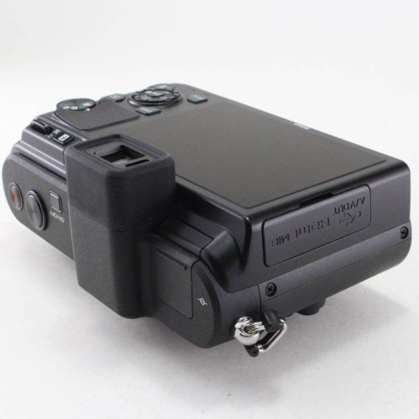 Nikon ミラーレス一眼カメラ Nikon 1 (ニコンワン) V1 (ブイワン) ボディ ブラック N1 V1 BK jsh 05