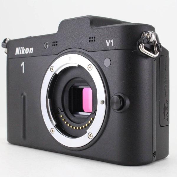 Nikon ミラーレス一眼カメラ Nikon 1 (ニコンワン) V1 (ブイワン) ボディ ブラック N1 V1 BK jsh 06