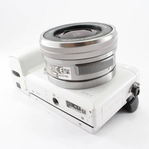 ソニー SONY ミラーレス一眼 α6000 パワーズームレンズキット E PZ 16-50mm F3.5-5.6 OSS ホワイト ILCE-6000L W|jsh|06