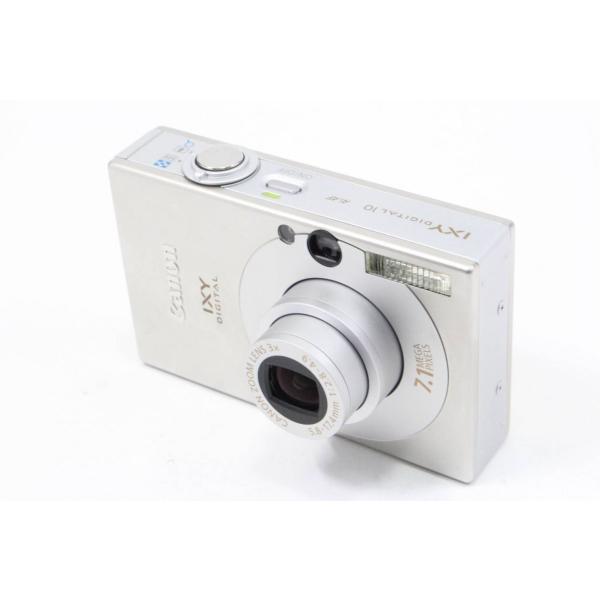 Canon デジタルカメラ IXY (イクシ) DIGITAL 10 シルバー IXYD10(SL)|jsh|02