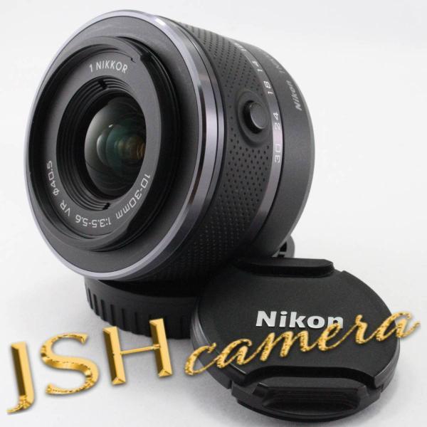 Nikon(ニコン) Nikon 1 NIKKOR VR 10-30mm F3.5-5.6 ブラックの画像