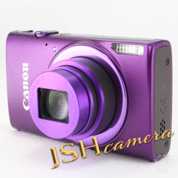 Canon デジタルカメラ IXY 630 光学12倍ズーム パープル IXY630(PR)
