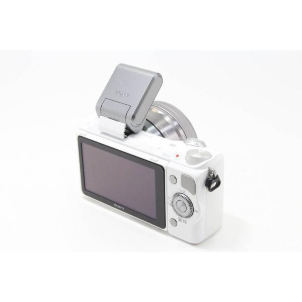 ソニー SONY ミラーレス一眼 α NEX-5R パワーズームレンズキット キットレンズ:E PZ 16-50mm F3.5-5.6 OSS ホワイト NEX-5RL/W|jsh|03