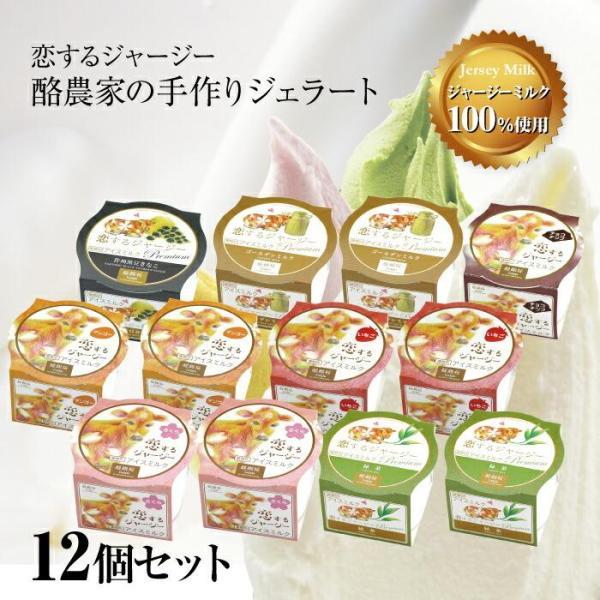 醍醐桜 酪農家の手作りジェラート選べる12個セット 冷凍 13-04-26