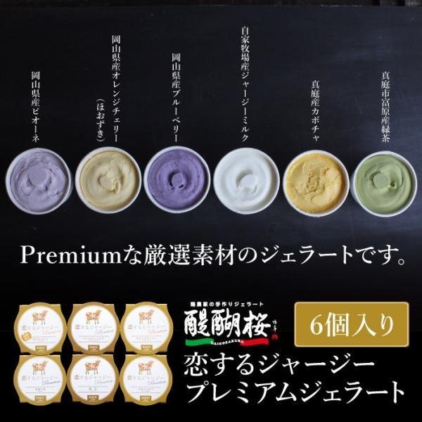 恋するジャージープレミアムジェラート6個 醍醐桜