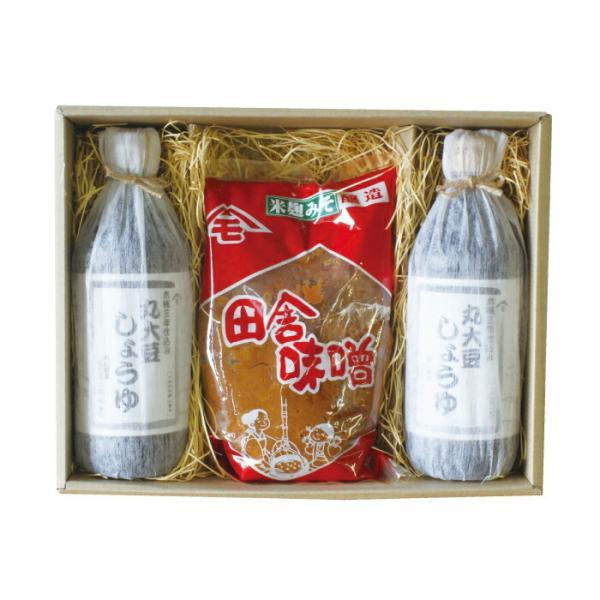 お中元 ギフト 森田醤油醸造元 丸大豆醤油&米味噌のセット