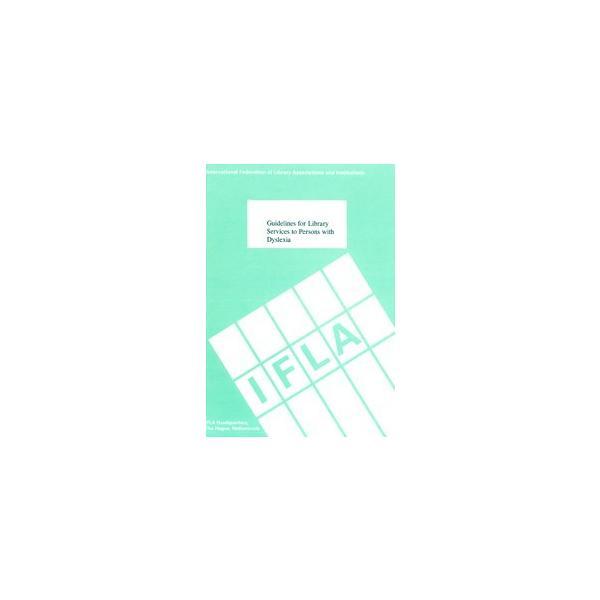 【ダウンロード版】「ディスレクシアのための図書館サービスのガイドライン」 マルチメディアDAISY図書|jsrpd