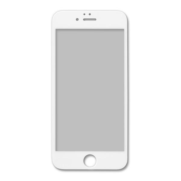 覗き見を防ぐ 全面フルカバー「iPhone6/6s(4.7インチ)用 のぞき見防止 液晶保護 強化ガラスフィルム(ホワイト)」|jttonline|02