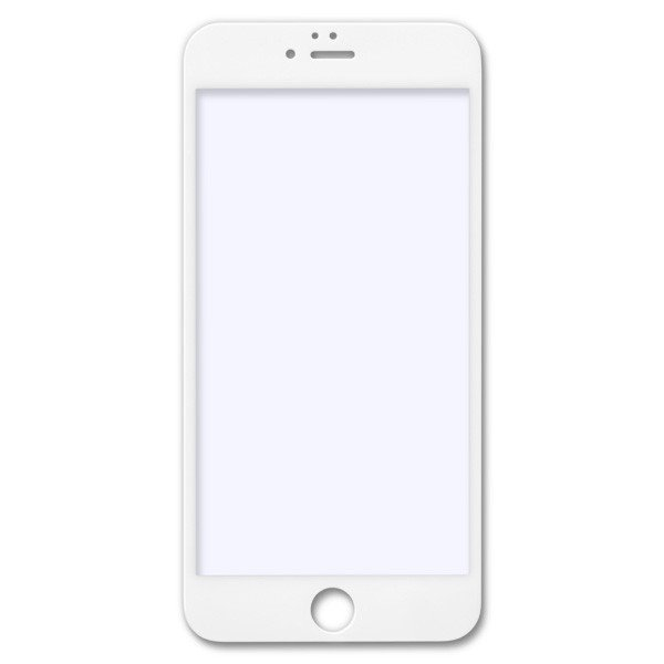 目に有害な青色光を80%カット「iPhone6/6s Plus(5.5インチ)用 ブルーライトカット 全面フルスクリーン液晶保護ガラス(ホワイト) jttonline 02