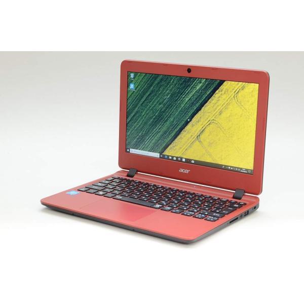 ACER ES1-132-F14D/RF ノートパソコン Aspire ES 11 ローズウッドレッド [11.6型 /intel Celeron /HDD:500GB /メモリ:4GB /2017年2月モデル]の画像