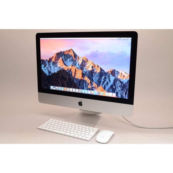 iMac 21.5インチモデル[2015年/HDD 1TB/メモリ 8GB/1.6GHz2コア Core i5]MK142J/Aの画像