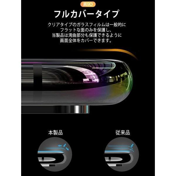 ガラスフィルム 保護フィルム 強化ガラス iphone XR  防水 5D やわらかい|juan-j|05